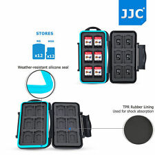 JJC Storage Memory Card Case for Nintendo Switch Game Card*12+Micro SD Card*12