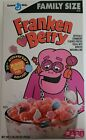 NEW HALLOWEEN 2021 FRANKEN BERRY CEREAL FAMILY SIZE 16 OZ FREE WORLD SHIPPING