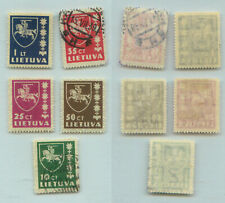 Lithuania 1937 SC 301-305 mint or used . rtb2253