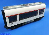 LEGO CITY / Vagón de tren / Vagón Medio / construida COMO 7938 en blanco