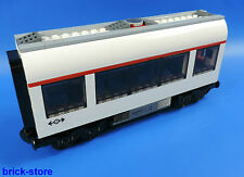 LEGO CITY / Train Voiture / moyenne / mis en place Comment 7938 blanc