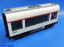 LEGO® City/ Eisenbahn Waggon / Mittelwaggon  /  Aufgebaut wie 7938 in weiß