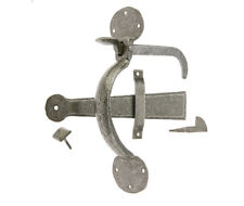 Valley Forge Hand forged Pewter Bean Suffolk thumb latch with Locking pin VF31