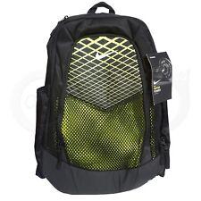 Nike Vapor Power laptop Backpack Green Black Volt Sport big hiking book bag New