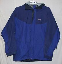 Patagonia Hooded Ski/Snow/Winter Jacket Coat - Blue - Men's Size L