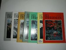 Fly Fisherman Magazine 1978 (Seven Issues)