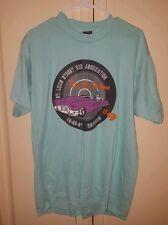 *Vintage* 1991 Rod & Custom Reunion Mens Xl 50/50 Cotton T-Shirt Lt Green (New)