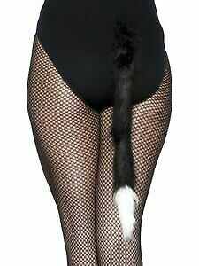 Cats Tail Ladies Animal Fancy Dress Accessory Furry Tail