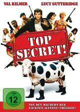TOP SECRET (VAL KILMER, LUCY GUTTERIDGE, OMAR SHARIF,...)  DVD NEU