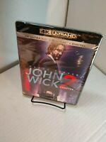 John Wick 2 (4K+Blu-ray+Digital) Brand NEW (Sealed) Free Shipping with Tracking