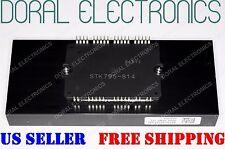 NEW STK795-814 with ALUMINUM HEAT SINK SANYO ORIGINAL Integrated Circuit IC