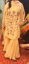 Indian Pakistani  Designer Gharara Party Wear Mayun Mehndi