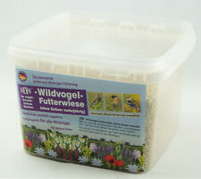GEVO Wildvogel-Futterwiese für 200 m², mehrjährig, Vogelwiese Bienenweide 900368