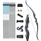 D&Q Hunting Bow and Arrow for Adults Recurve Bows Archery Set Adult Handmade ...