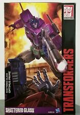 Transformers Generations Shattered Glass Optimus Prime Masterpiece MP-10SG