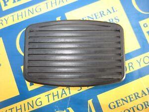 1934-1955 Buick Oldsmobile Pontiac Brake Pedal Cover Black. OEM #493728