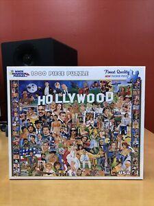 "White Mountain Hollywood Movie Stars 1000-pc Jigsaw Puzzle #254 27""×20"""