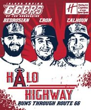 INLAND EMPIRE 66ERS ANGELS HALO HIGHWAY BLANKET GIVEAWAY BEDROSIAN CALHOUN CRON