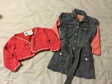 Pumpkin Patch Winter Dress And Cardigan Size 18/24 Months