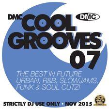 DMC Cool Grooves Issue 7 Future Urban, R&B, Slowjams, & Soul Cutz DJ CD