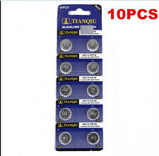 10PCS AG13 LR44 SR44 L1154 357 A76 Button Coin Cell Pack Alkaline Batteries HOT