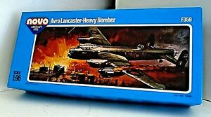 Vintage Novo Avro Lancaster Heavy Bomber Aircraft Kit - 1/96 - M/B Ex Shop Stock