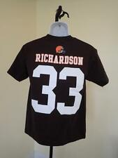 New - Cleveland Browns #33 Trent Richardson Youth Large L (14/16) T-Shirt