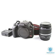 Canon EOS Digital Rebel XS / EOS 1000D 10.1MP Digital SLR Camera - Black (Kit...