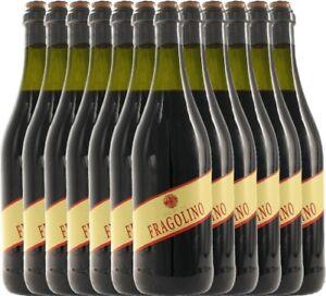 12er Paket - Fragolino Rosso - Terre del Sole   Perlwein
