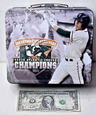 Christian Yelich - Minor League Greensboro Grasshoppers Promo Metal Lunchbox