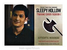 SLEEPY HOLLOW CRYPTOZOIC SEASON 1 COSTUME WARDROBE M07 NICHOLAS GONZALEZ
