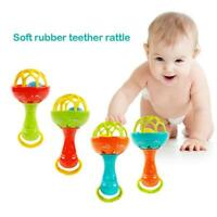 Infant Baby Ball Toy Hand Bell Rattles Develop Intelligent Educational Toys US