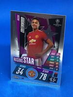 TOPPS MATCH ATTAX CHROME 2020-21 20/21 MANCHESTER UNITED MASON GREENWOOD #152