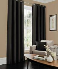 Thermal Blackout Luxury Curtains Ready Made Eyelet/Ring Top Fully Lined Pair