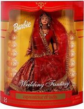 Expressions of Indian Barbie Doll Wedding Fantasy (Color & Design may vary)