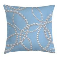 Pearls Throw Pillow Cases Cushion Covers Home Decor 8 Sizes Ambesonne