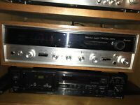 SANSUI 5000X VINTAGE STEREO RECEIVER -  part of my collection Working 100% @@@@@