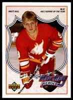 1991-92 Upper Deck Hockey Heroes Brett Hull #4