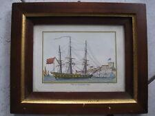 Segelschiff Druck Vaisseau du premier rang Kapitän Henri Sbonski de Passebon