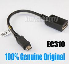 100% Genuine EC310 Micro USB to USB Adapter OTG Cable for Sony Xperia Z Z1 Z2 Z3