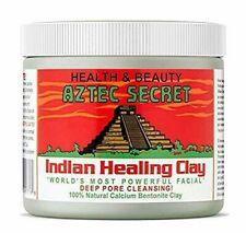 Aztec Indian Healing Clay with 100% Natural Calcium Bentonite Clay (454 g)