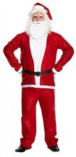 Adult Men's Santa Claus Father Christmas Party Fancy Dress Costume One Size