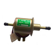 Electric Fuel Pump HEP-02A Low Pressure 12V For Agricultural ATV Automotive 12V