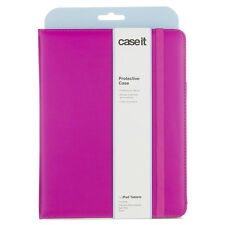 Caseit Folio Book Style Case Cover with Built-In Stand for iPad 2/3/4 - Pink