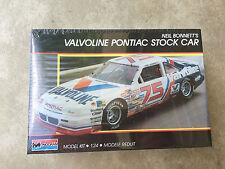NEIL BONNETT'S VALVOLINE PONTIAC GRAND PRIX STOCK CAR 1/24 MONOGRAM 1989 SEALED
