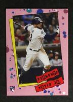 2019 Topps Throwback Thursday FERNANDO TATIS JR Rookie 1985 TBT #139 RC /518