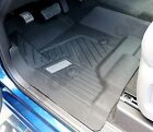 Chevrolet Silverado Crew Cab OEM Front & Rear Black All-Weather Floor Liners NEW