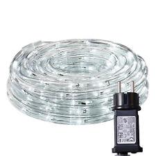 16m Led Lichterschlauch Lichtschlauch mit Memoryfunktion Kaltweiß Außen/Innen DE
