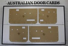 Mazda Bravo B2600 / Ford Courier PC, PD Twin Cab Door Cards. Blank Trim Panels