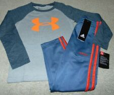~NWT Boys UNDER ARMOUR & ADIDAS Outfit! Size 4 Super Cute:)!